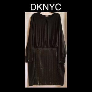 DKNYC Black Dress Size 18w